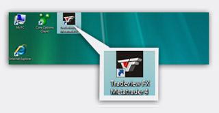 قم بتشغيل أو بإعادة تشغيل منصة الMetaTrader 4